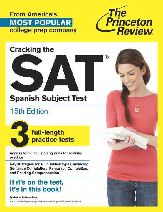 Princeton Review Cracking the Sat Spanish Subject Test By Princeton Review (COR)